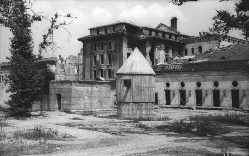 Berlin, Garten der zerstörte Reichskanzlei