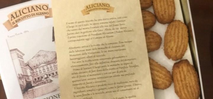 Dolci Tipici Bergamaschi Biscotto Aliciano