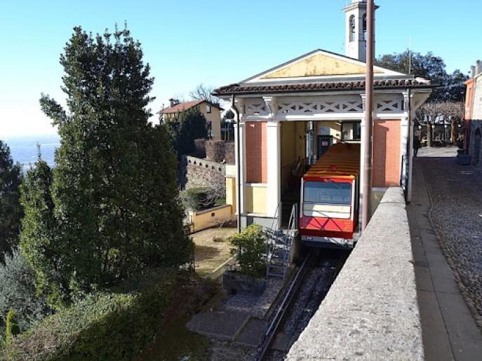 Funicolari italiane: funicolare di San Vigilio Bergamo