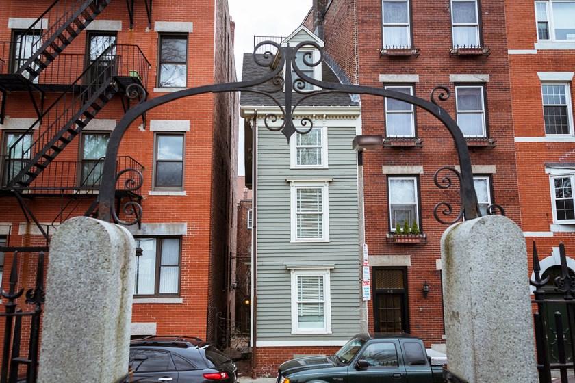Boston Skinny House casa del dispetto