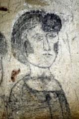 Graffiti di Giacomo Manzù nella soffitta di Sant'Alessandro in Colonna