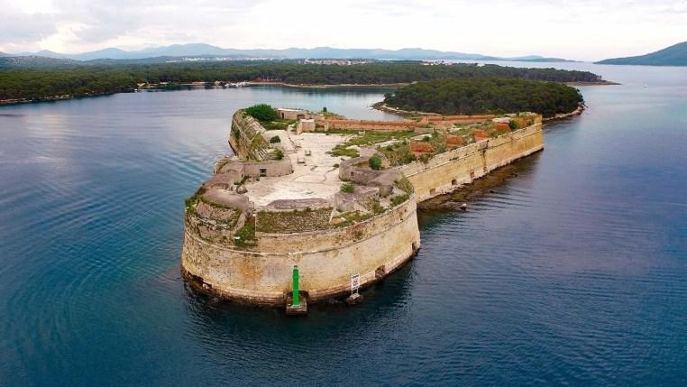 Bastione Mura di difesa veneziane Croazia