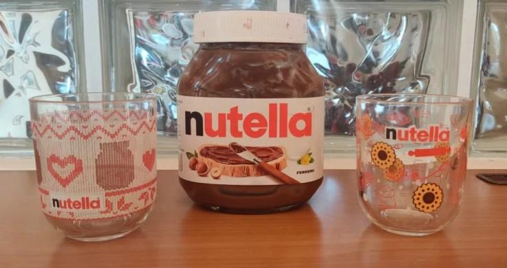 Micro collezione vasetti Nutella