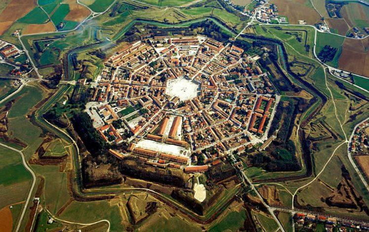 Palmanova città fortezza Patrimonio Unesco transnazionale