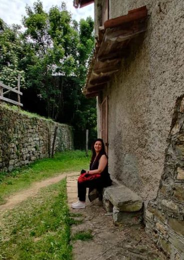 Raffi Garofalo nel borgo fantasma di Canto