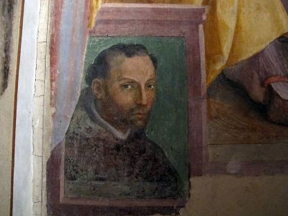 Autoritratto Alessandro Allori Firenze
