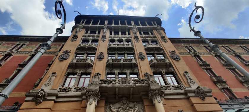 Facciata principale del Grand Hotel