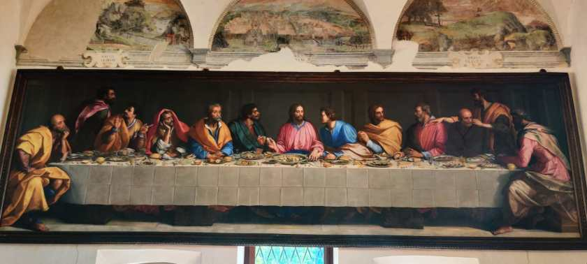 Ultma Cena di Alessandro Allori Monastero di Astino