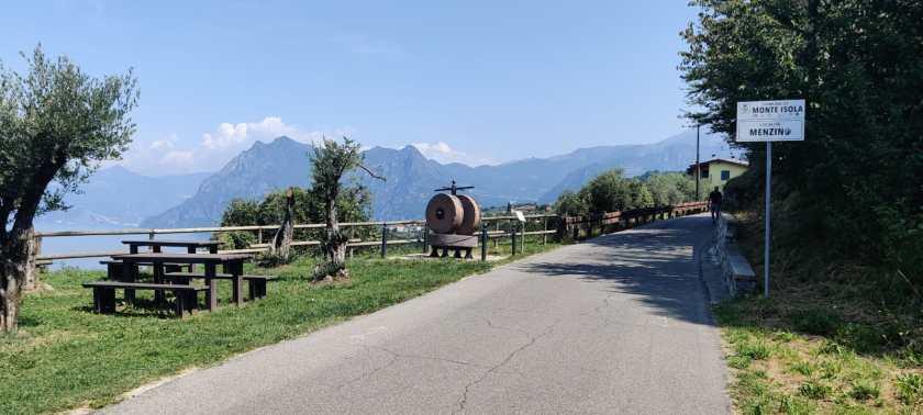 Monte Isola in bicicletta