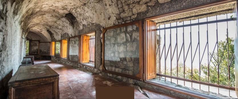 Rocca Martinengo di Monte Isola Interni Corridoio ultimo piano