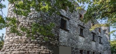 Rocca Martinengo di Monte Isola facciata esterna