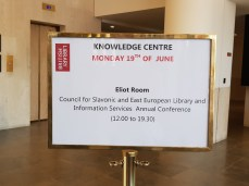 Annual COSEELIS Conference British Library and UCL SSEES on 19-20 June 2017