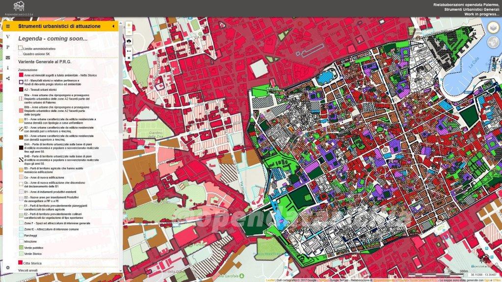 #Palermo - Strumenti urbanistici di attuazione - Opendata