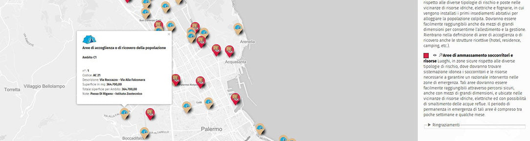Aree Protezione Civile Palermo 2016