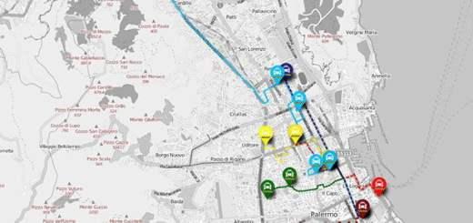 Percorsi - Taxi sharing Palermo