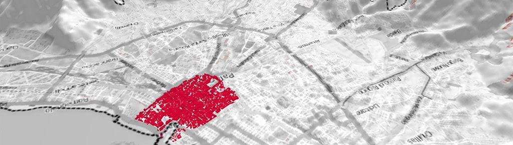 Palermo Modello digitale del terreno