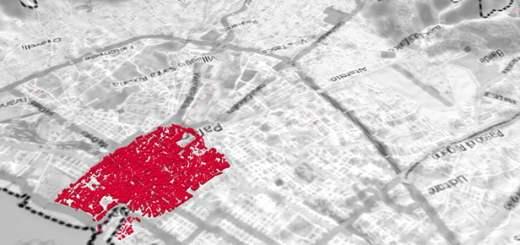 Qgis - Modello digitale del terreno di Palermo e unità volumetriche