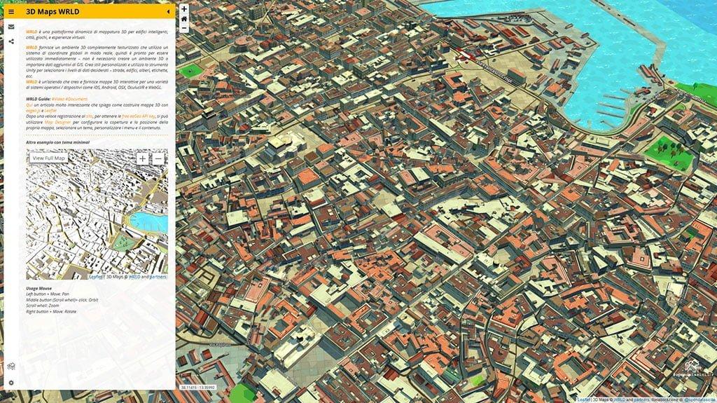 Cartina Italia Interattiva Html.3d Maps Wrld Cose Robe Rielaborazioni Dataset Opendata Gbvitrano