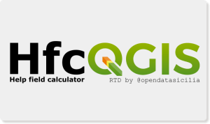 HfcQGIS: Help funzioni calcolatore di campi di QGIS
