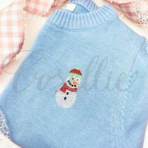 Mini sketch snowman embroidery design, Snowman embroidery design, Sled, Santa, Snow, Snowman, Mittens, Vintage Christmas, Winter, Vintage stitch embroidery design, Applique, Machine embroidery design, Blanket stitch, Beanstitch, Vintage, Classic