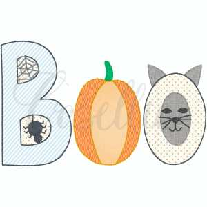 Boo cat applique embroidery design, Bat, Ghost, Candy, Spider, Broom, Candy corn, Cat, Witch, Pumpkin, Pumpkin applique, Fall pumpkin, Fall design, Quick stitch pumpkin, Halloween, Vintage Thanksgiving, Vintage stitch embroidery design, Applique, Machine embroidery design, Blanket stitch, Beanstitch, Vintage, Classic, Sketch