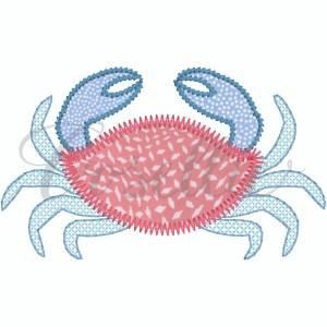 Crab applique embroidery design, Sea creatures applique embroidery design, Sea animals, Build your own, Crab applique, Dolphin applique, Jellyfish applique, Octopus applique, Seahorse applique, Shark applique, Stingray applique, Tuna applique, Fish applique, Turtle applique, Whale applique, Sea, Summer, Beach, Vintage stitch embroidery design, Applique, Machine embroidery design, Blanket stitch, Beanstitch, Vintage, Classic