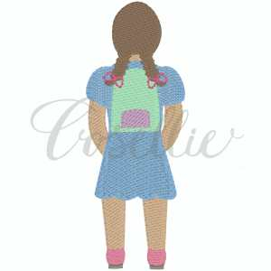 Girl with backpack embroidery design, Boy, Backpack, Pencils, Girl, Crayons, Vintage crayons, Back to school, Vintage stitch embroidery design, Applique, Machine embroidery design, Blanket stitch, Beanstitch, Vintage, Classic
