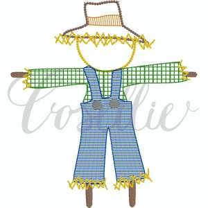 Scarecrow boy embroidery design, Boy scarecrow, Thanksgiving embroidery design, Vintage stitch embroidery design, Applique, Machine embroidery design, Blanket stitch, Beanstitch, Vintage, Classic, Sketch
