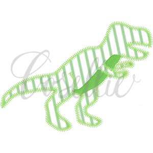 T-Rex applique embroidery design, Vintage dinosaurs, Boys, T-Rex, Stegosaurus, Brachiosaurus, Triceratops, Vintage stitch embroidery design, Applique, Machine embroidery design, Blanket stitch, Beanstitch, Vintage