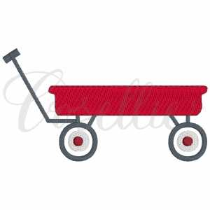 Wagon embroidery design, Wagon, Vintage wagon, Boy wagon, Girl wagon, Bike, Bicycle, Summer, Vintage stitch embroidery design, Applique, Machine embroidery design, Blanket stitch, Beanstitch, Vintage, Classic