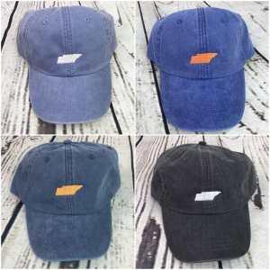 Tennessee baseball cap, Tennessee baseball hat, Tennessee hat, Tennessee cap, State of Tennessee, Personalized cap, Custom baseball cap