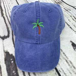 Palm tree baseball cap, Palm tree baseball hat, Palm tree hat, Palm tree cap, Personalized cap, Custom baseball cap, Beach baseball cap, Spring Break, Summer