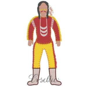 Seminole embroidery design, Indian, Seminoles, Native American, Florida State, Football, Coonhound, Puppy, Vintage stitch embroidery design, Applique, Machine embroidery design, Blanket stitch, Beanstitch, Vintage