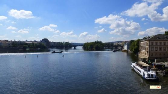 Ponte Carlo e il Danubio