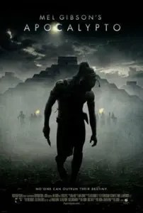 Movie poster of Apocalypto.