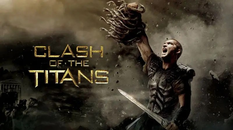 Clash of the Titans movie promo.