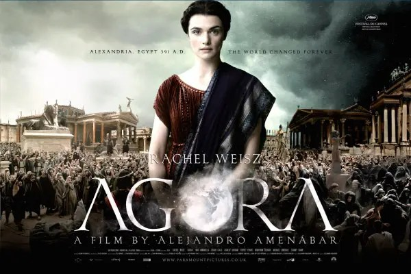Agora movie promo.