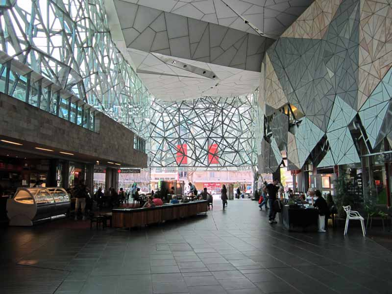The Atrium at Federation Square.