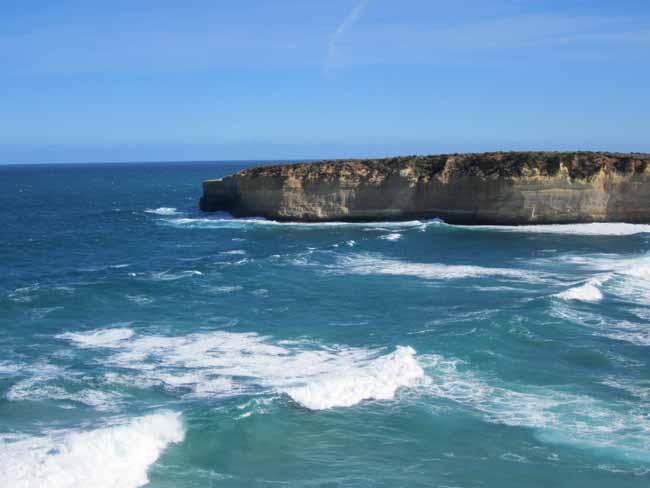 Victorian coastline.