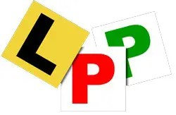 Picture of L and P plates.