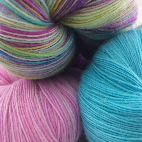 Indie dyed yarns