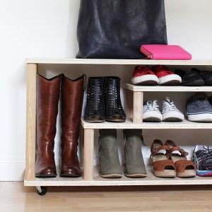 9 modalitati eficiente de organizare a pantofilor