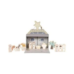 Play Box Belén – figuras para Navidad - Little Dutch