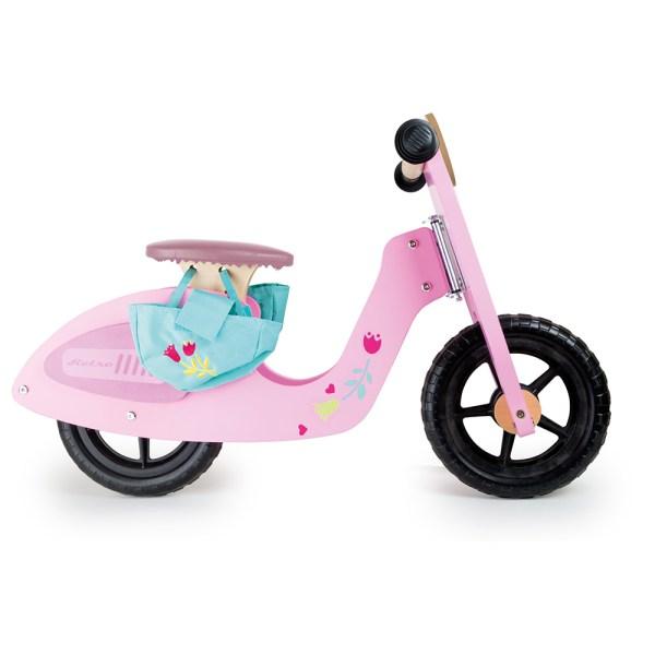 Bicicleta/moto sin pedales, rosa – Small Foot