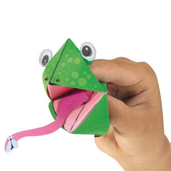 Comecocos de papel animales - SES Creative