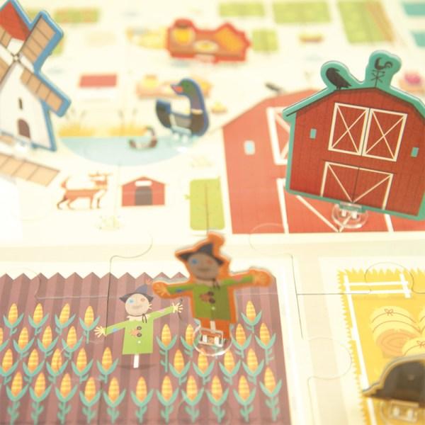 3D Puzzle Granja - New Selection