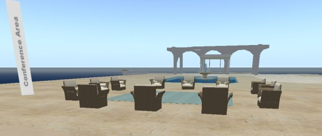 Conference Area, The Commons, Knowledge Plaza, Hydra