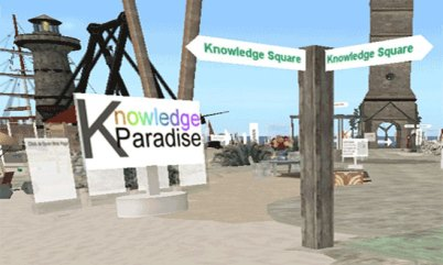 Knowledge Paradise Welcome Area@Knowledge Square