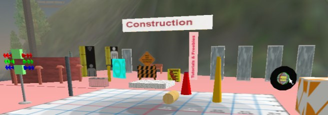 Knowledge Port, Construction Zone