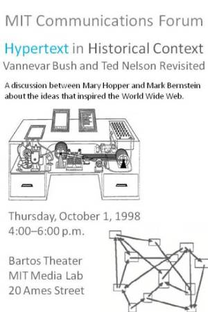 Hypertext in historical context: Vannevar Bush and Ted Nelson revisited